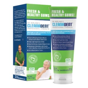 Cleanadent box and paste